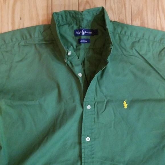 Polo by Ralph Lauren Other - Polo Ralph Lauren Green Short Sleeved Shirt